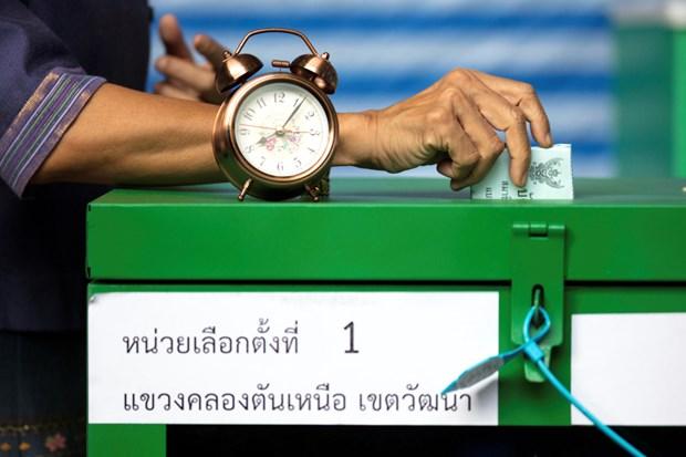 Ket qua bau cu Thai Lan se khong thay doi sau khi bo phieu lai hinh anh 1