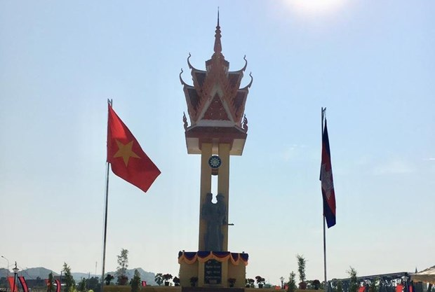 Khanh thanh Dai Huu nghi Viet Nam-Campuchia tai Tay Bac Campuchia hinh anh 1
