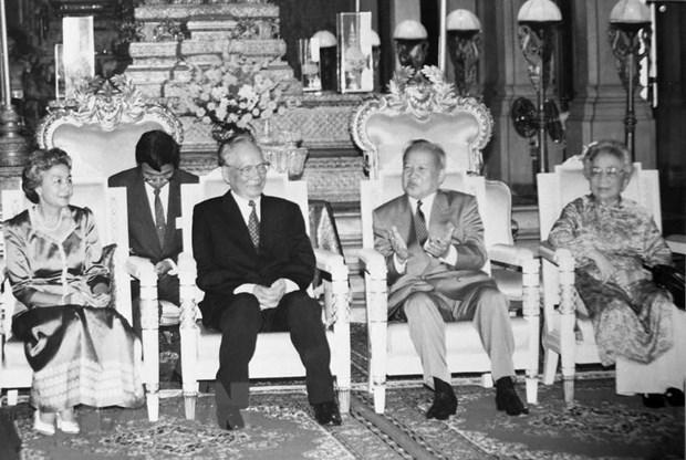 Hoc gia Campuchia: Dai tuong Le Duc Anh la nha lanh dao quan su tai ba hinh anh 1