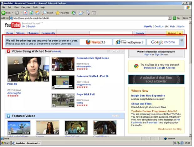 Cuu ky su YouTube tiet lo am muu loai tru Internet Explorer 6 hinh anh 2