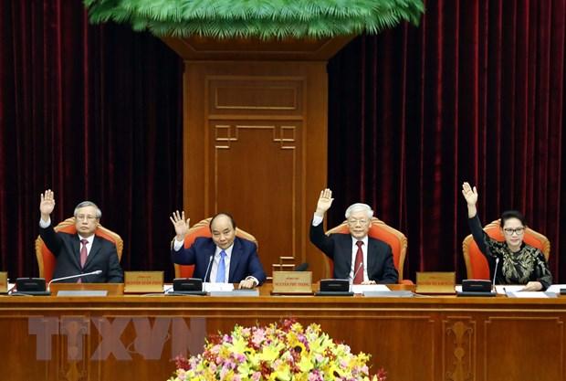 Be mac Hoi nghi lan thu 10, Ban Chap hanh Trung uong Dang khoa XII hinh anh 3