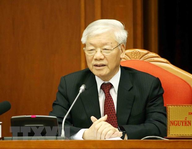 Be mac Hoi nghi lan thu 10, Ban Chap hanh Trung uong Dang khoa XII hinh anh 1