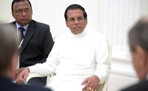 Tong thong Sri Lanka keu goi chia se thong tin tinh bao hinh anh 1