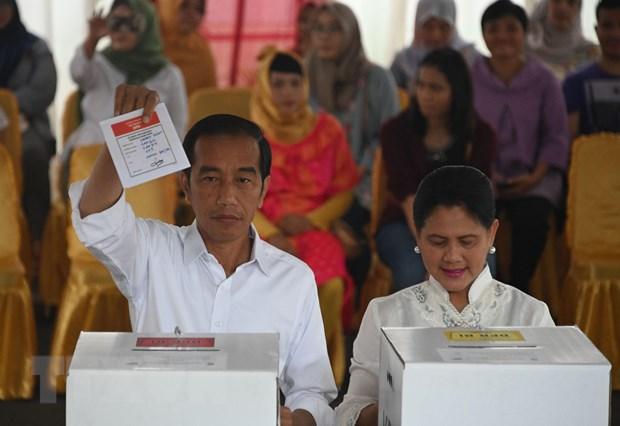 Tong thong Indonesia Joko Widodo tai dac cu nhiem ky hai hinh anh 1