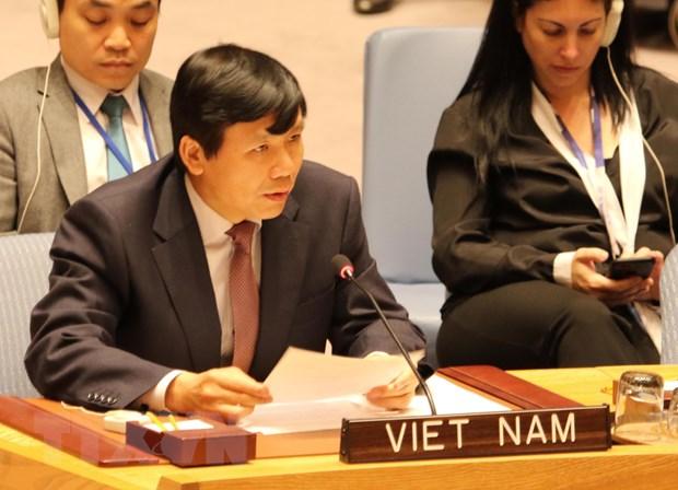 Viet Nam dai dien ASEAN cam ket bao ve dan thuong trong xung dot hinh anh 1