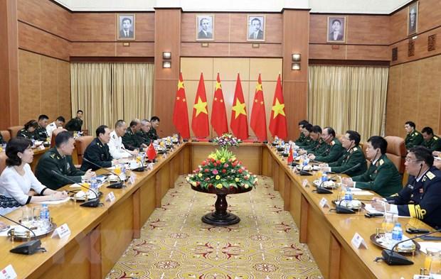 Bo truong Bo Quoc phong Trung Quoc tham chinh thuc Viet Nam hinh anh 2