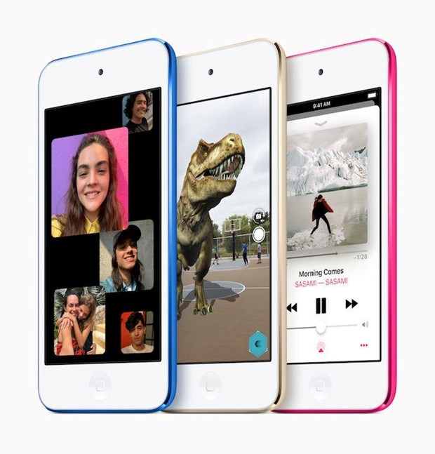 Apple ra mat mau may nghe nhac iPod Touch the he moi hinh anh 2