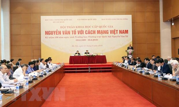 Hoi thao khoa hoc cap quoc gia 'Nguyen Van To voi cach mang Viet Nam' hinh anh 2