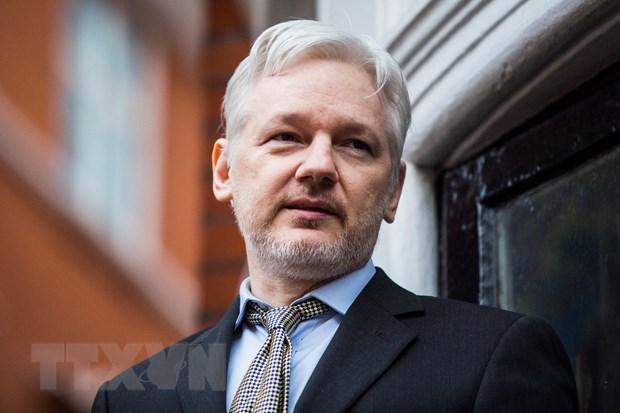 Toa an Thuy Dien bac de nghi bat giu nha sang lap WikiLeaks Assange hinh anh 1