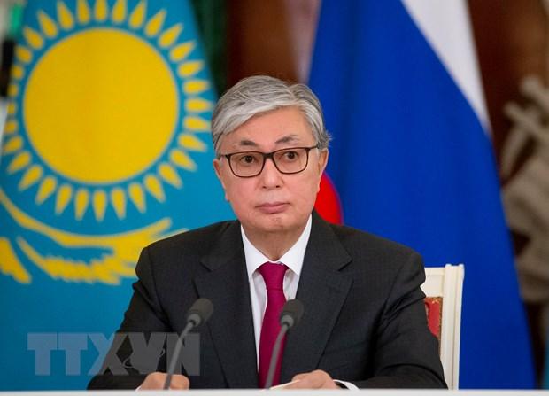Ong Tokayev chinh thuc nham chuc Tong thong Kazakhstan hinh anh 1