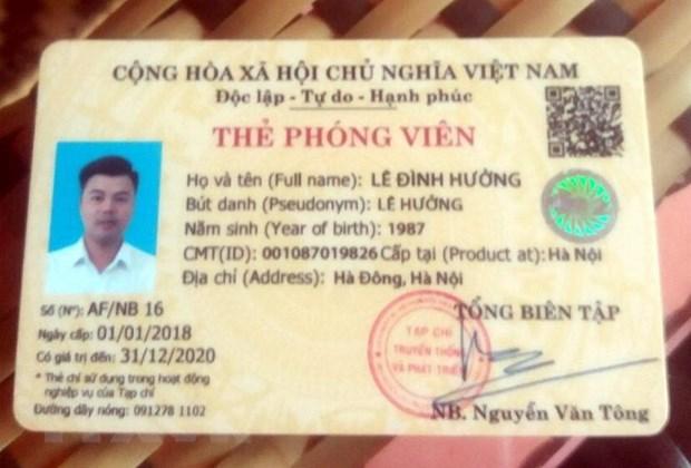 Tuyen Quang dieu tra vu gia danh phong vien tap chi hinh anh 1