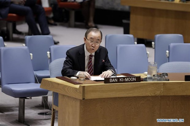 Cuu Tong thu ky LHQ Ban Ki-moon lo ngai nguy co xung dot hat nhan hinh anh 1
