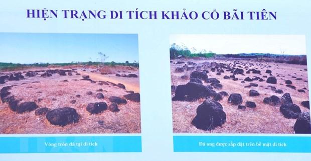 Thanh dat hinh tron Loc Tan 2 o Binh Phuoc la di tich khao co quoc gia hinh anh 1
