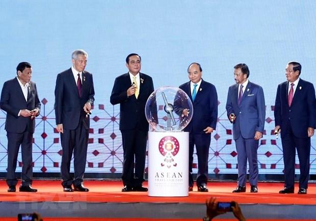 Thu tuong du Le khai mac Hoi nghi Cap cao ASEAN lan thu 34 hinh anh 1