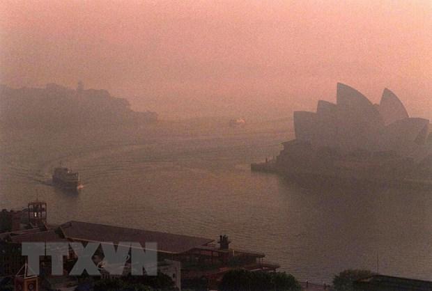 Thanh pho Sydney cua Australia ban bo tinh trang khan cap ve khi hau hinh anh 1