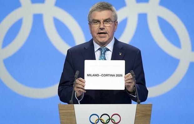 Italy duoc trao quyen dang cai Olympic mua Dong 2026 hinh anh 1