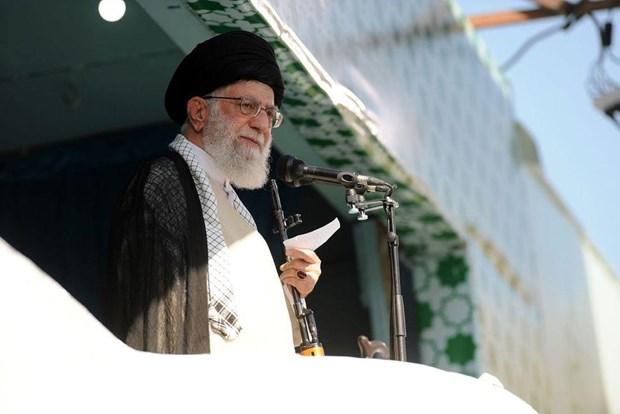 My ap dat trung phat doi voi Lanh tu toi cao Iran Ali Khamenei hinh anh 1