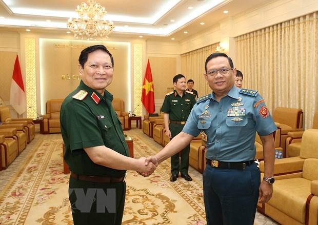Doi thoai Chinh sach Quoc phong Viet Nam-Indonesia lan thu nhat hinh anh 1