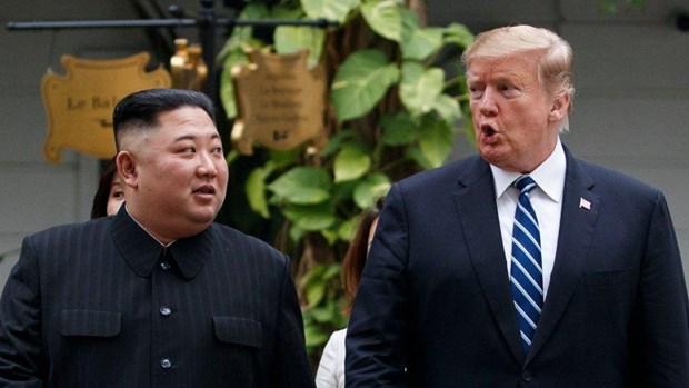 Tong thong Trump hy vong gap nha lanh dao Trieu Tien tai DMZ hinh anh 1