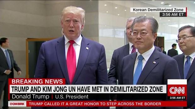 Tong thong Trump: My-Trieu Tien se noi lai cac cuoc dam phan hat nhan hinh anh 1