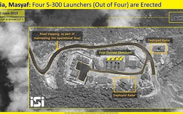 Israel: Cac he thong S-300 cua Syria da di vao hoat dong hinh anh 1