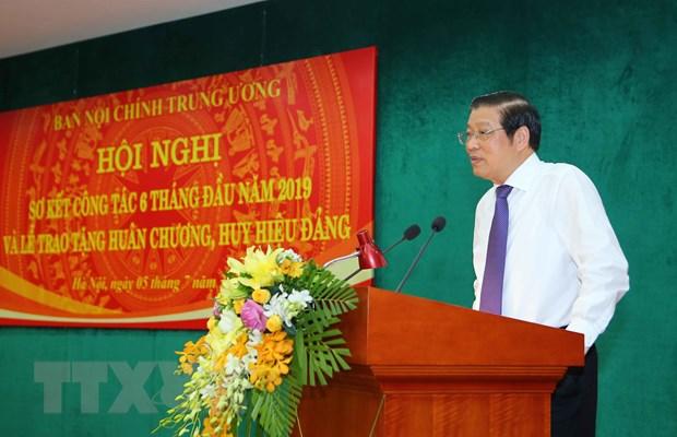 Ban Noi chinh don doc de ket thuc dieu tra cac vu an tham nhung hinh anh 1