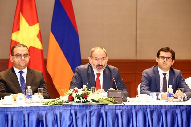 Thuc day hop tac nhieu mat giua Viet Nam va Armenia hinh anh 1