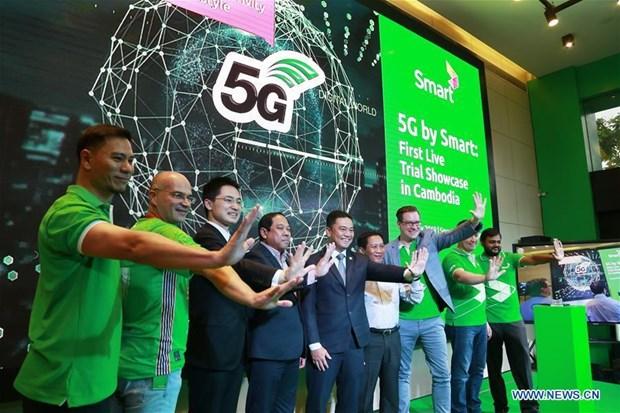 Nha mang Campuchia hop tac voi Huawei trien khai thu nghiem mang 5G hinh anh 1