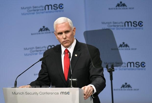 Pho Tong thong Mike Pence: My khong muon chien tranh voi Iran hinh anh 1