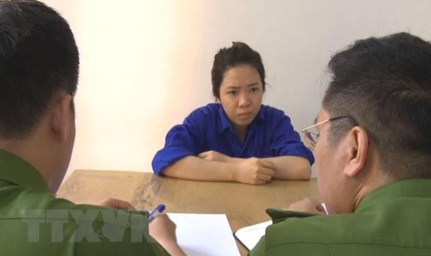 Quang Ninh: Pha duong day lua dao chiem doat tai san qua mang xa hoi hinh anh 1