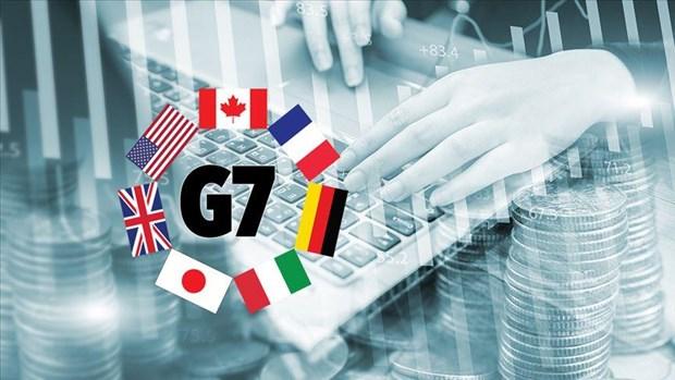 G7 se uu tien ban thao van de tien dien tu va thue doanh nghiep hinh anh 1
