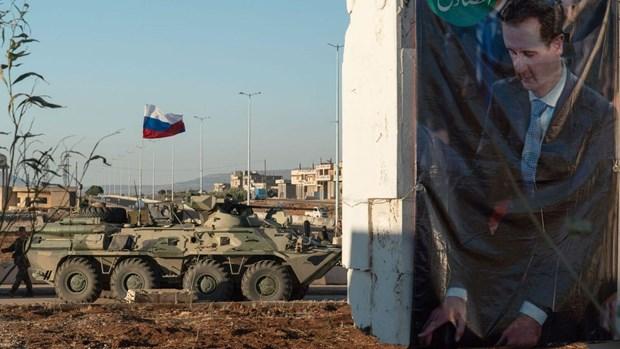 Syria: Phe noi day cao buoc Nga trien khai bo binh o Idlib hinh anh 1