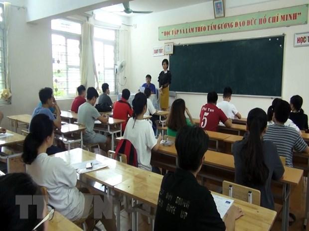 Hoa Binh co 1.183 thi sinh truot tot nghiep Trung hoc pho thong hinh anh 1