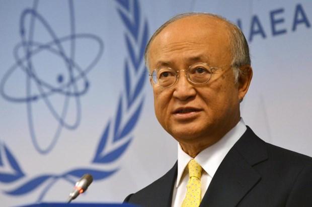 Tong Giam doc IAEA Yukiya Amano dot ngot qua doi o tuoi 72 hinh anh 1