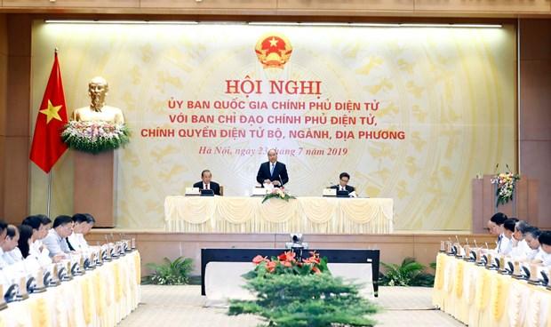 Thu tuong Nguyen Xuan Phuc: Dut khoat phai lam tot Chinh phu dien tu hinh anh 1