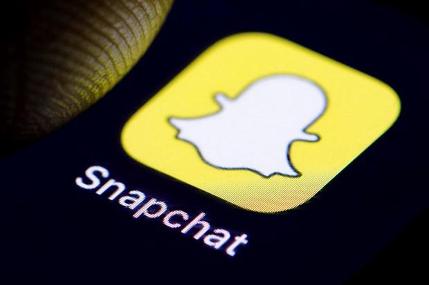 Mang xa hoi Snapchat lan dau tien can moc 200 trieu nguoi dung hinh anh 1