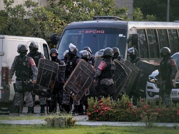 Brazil: Bao loan nha tu khien it nhat 52 tu nhan thiet mang hinh anh 1
