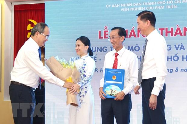 Ra mat Trung tam mo phong du bao kinh te-xa hoi TP Ho Chi Minh hinh anh 1