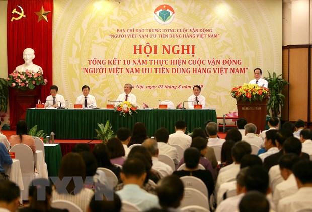 Thuong truc Ban Bi thu: Dua hang Viet chiem linh thi truong trong nuoc hinh anh 2
