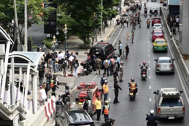 No o Bangkok: Chinh phu Thai Lan xac nhan co danh bom hinh anh 1