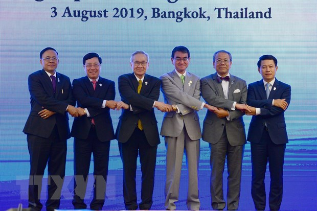 Cac nuoc Mekong-Nhat Ban quyet tam trien khai Chien luoc Tokyo 2018 hinh anh 1