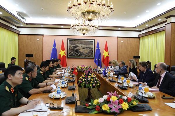 Viet Nam ung ho EU tham gia cac cau truc quoc phong an ninh chau A-TBD hinh anh 1