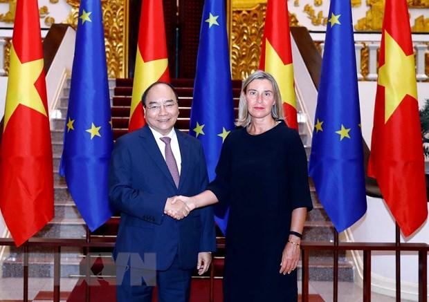 Viet Nam hoan nghenh lap truong cua EU ve an ninh tren Bien Dong hinh anh 1