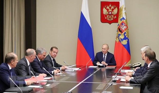 Tong thong Putin: Nga, My can tranh 'chay dua vu trang khong gioi han' hinh anh 1