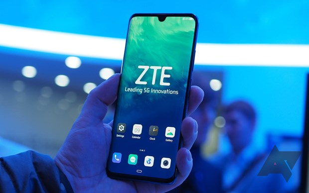 ZTE phat hanh chiec dien thoai 5G dau tien o thi truong Trung Quoc hinh anh 1