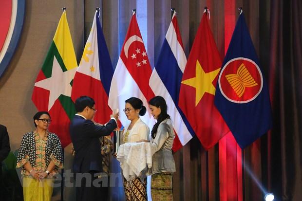 Pho Thu tuong Pham Binh Minh tham du Le ky niem 52 nam thanh lap ASEAN hinh anh 2