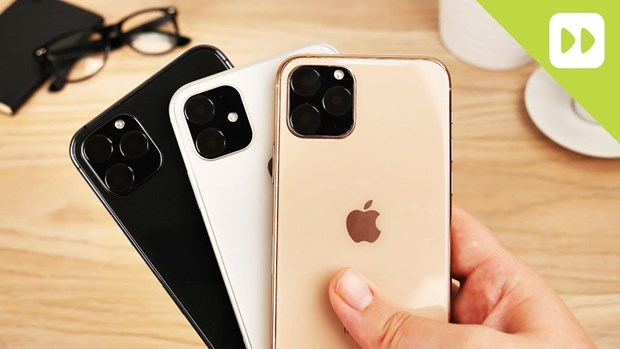 iPhone 2019 se co mot phien ban mang ten 'iPhone 11 Pro' hinh anh 1