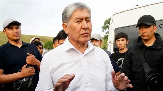 Cuu Tong thong Kyrgyzstan bi buoc mot loat toi dac biet nghiem trong hinh anh 1