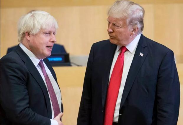 """Tong thong My Trump cam on Anh vi """"quan he doi tac kien dinh"""" hinh anh 1"""