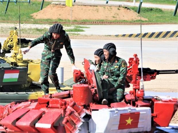 Doi tuyen Xe tang Viet Nam dung nhat bang tai ban ket Army Games 2019 hinh anh 1
